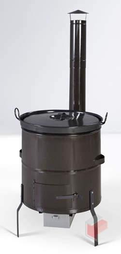 Ohřívač vody - Kotlíková souprava 60 lt - černá
