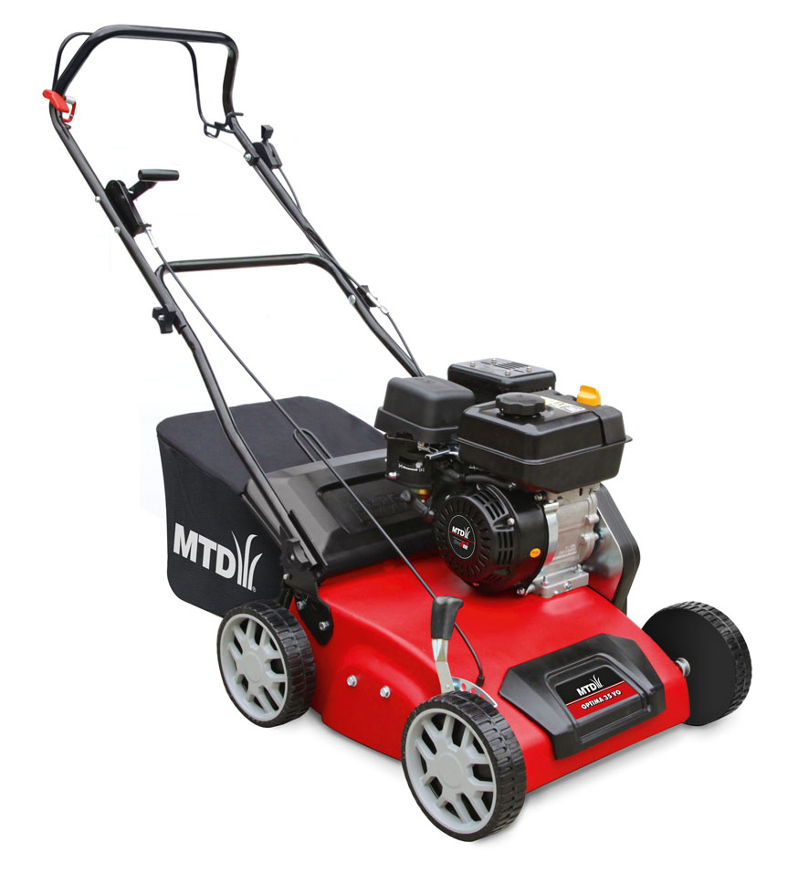 MTD OPTIMA 35 VO - travní provzdušňovač s benzinovým motorem