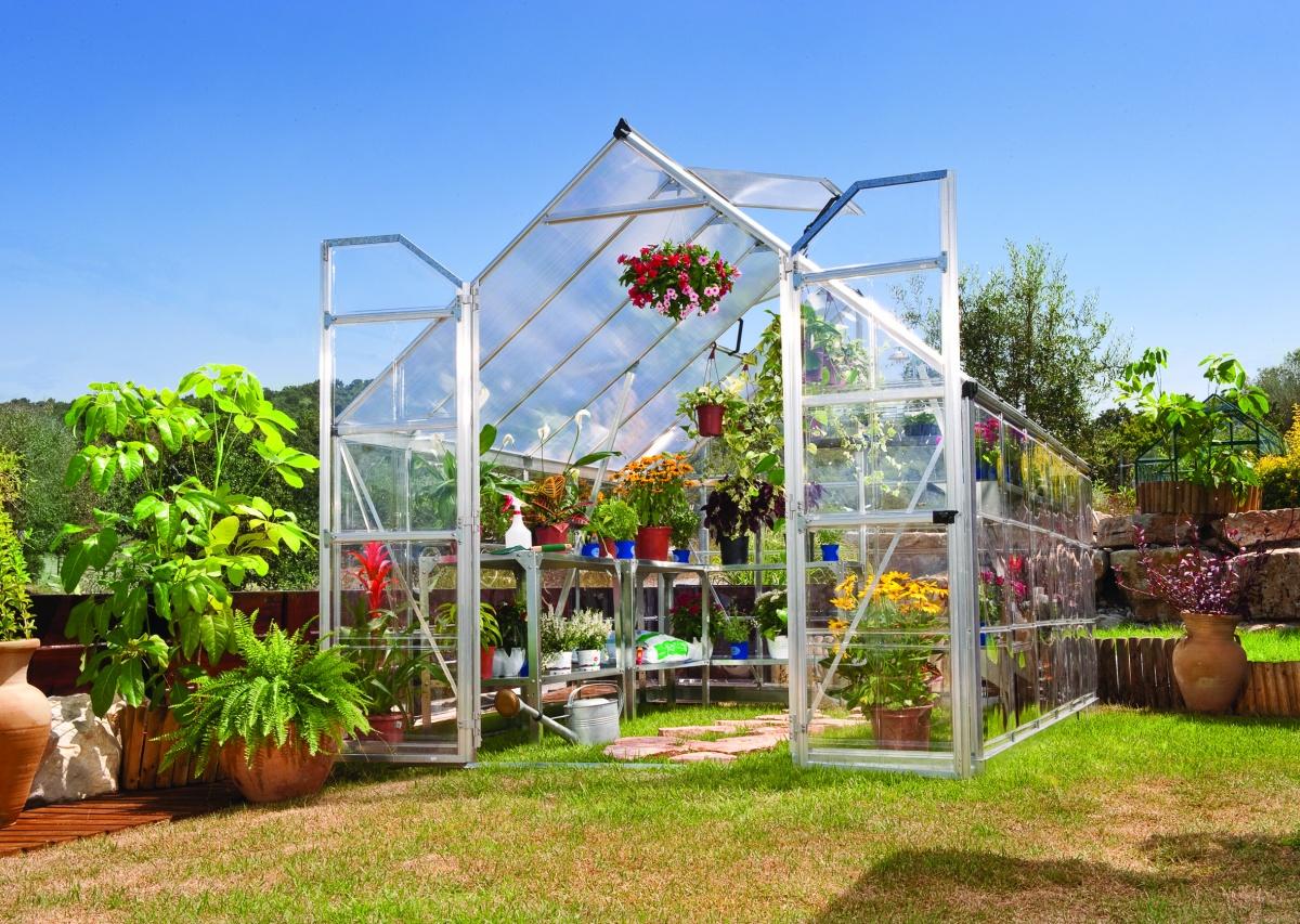 PALRAM BALANCE 8 x 12 SILVER - polykarbonátový skleník