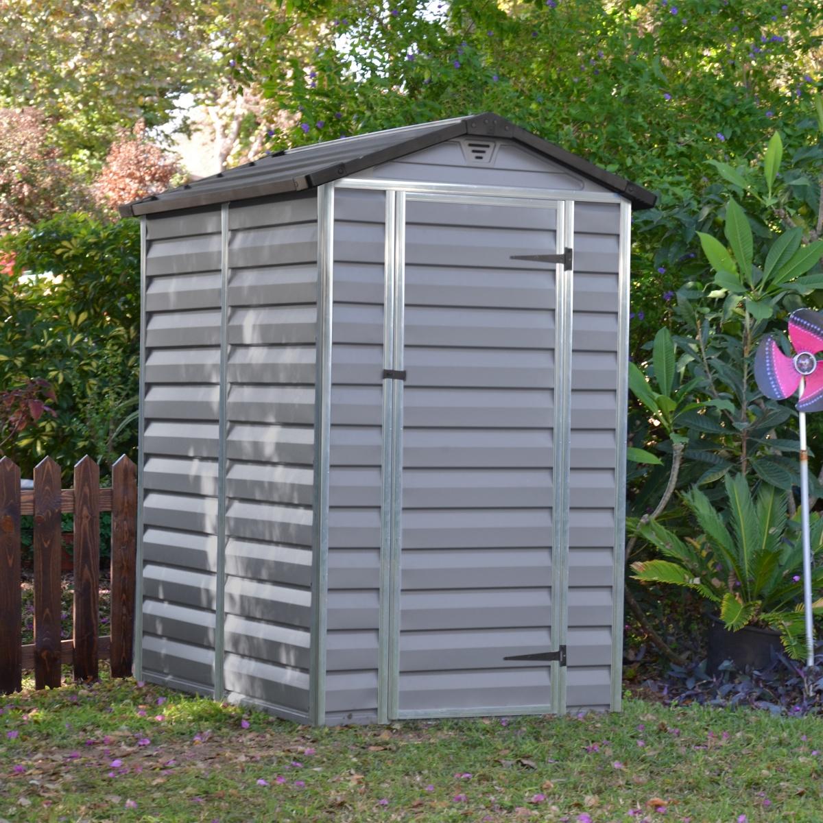 PALRAM SKYLIGHT 4 x 6 ŠEDÝ - zahradní domek
