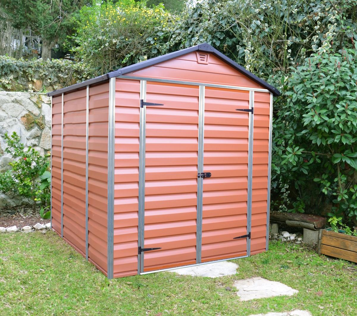 PALRAM SKYLIGHT 6 x 8 HNĚDÝ - zahradní domek