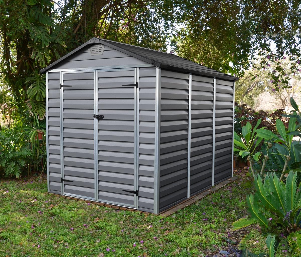 PALRAM SKYLIGHT 6 x 8 ŠEDÝ - zahradní domek