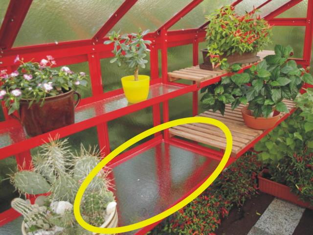 Pěstební stůl PRIMUS s kaleným sklem 1,5 m