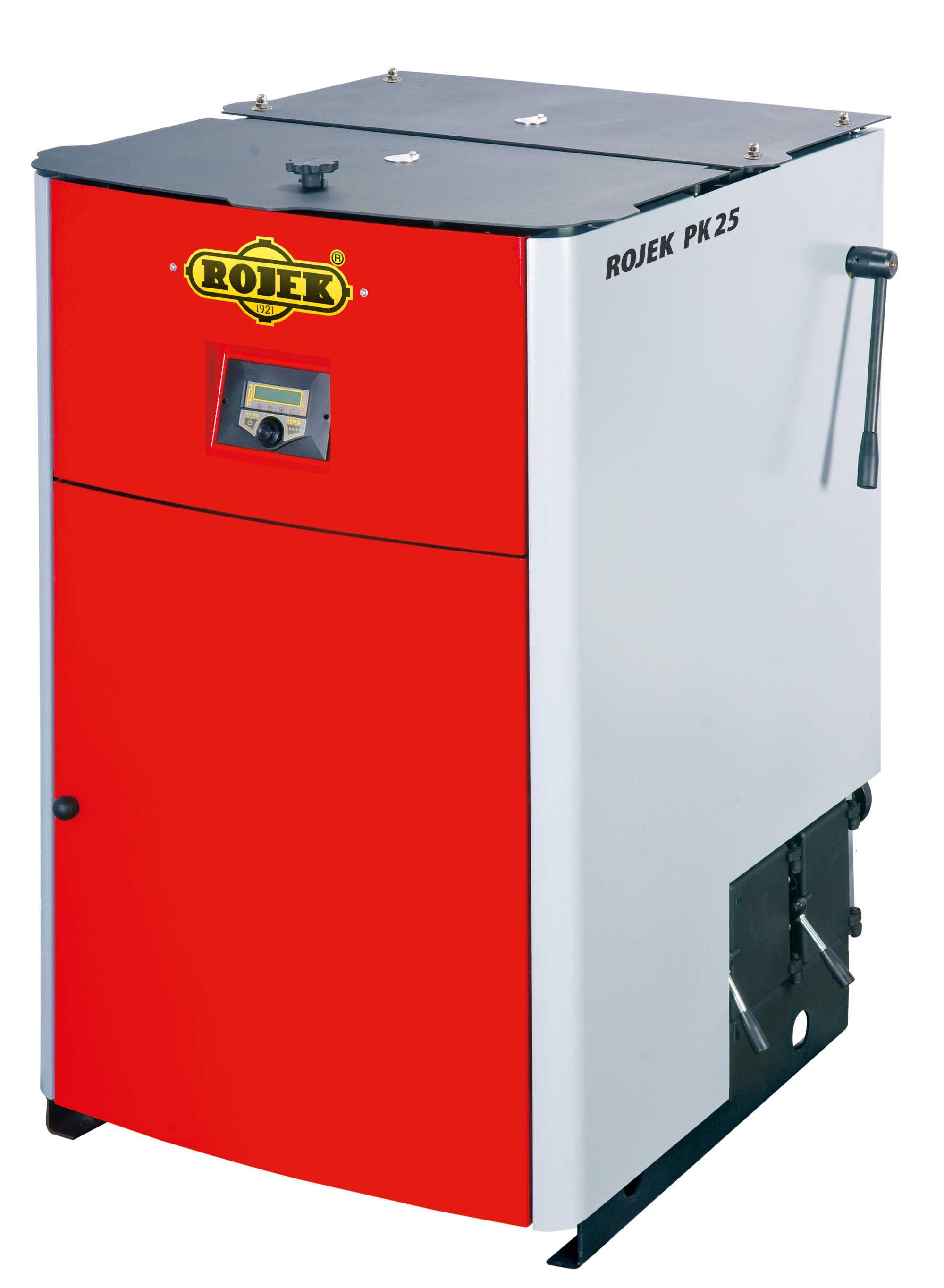 PK 25 - pyrolytický teplovodní kotel