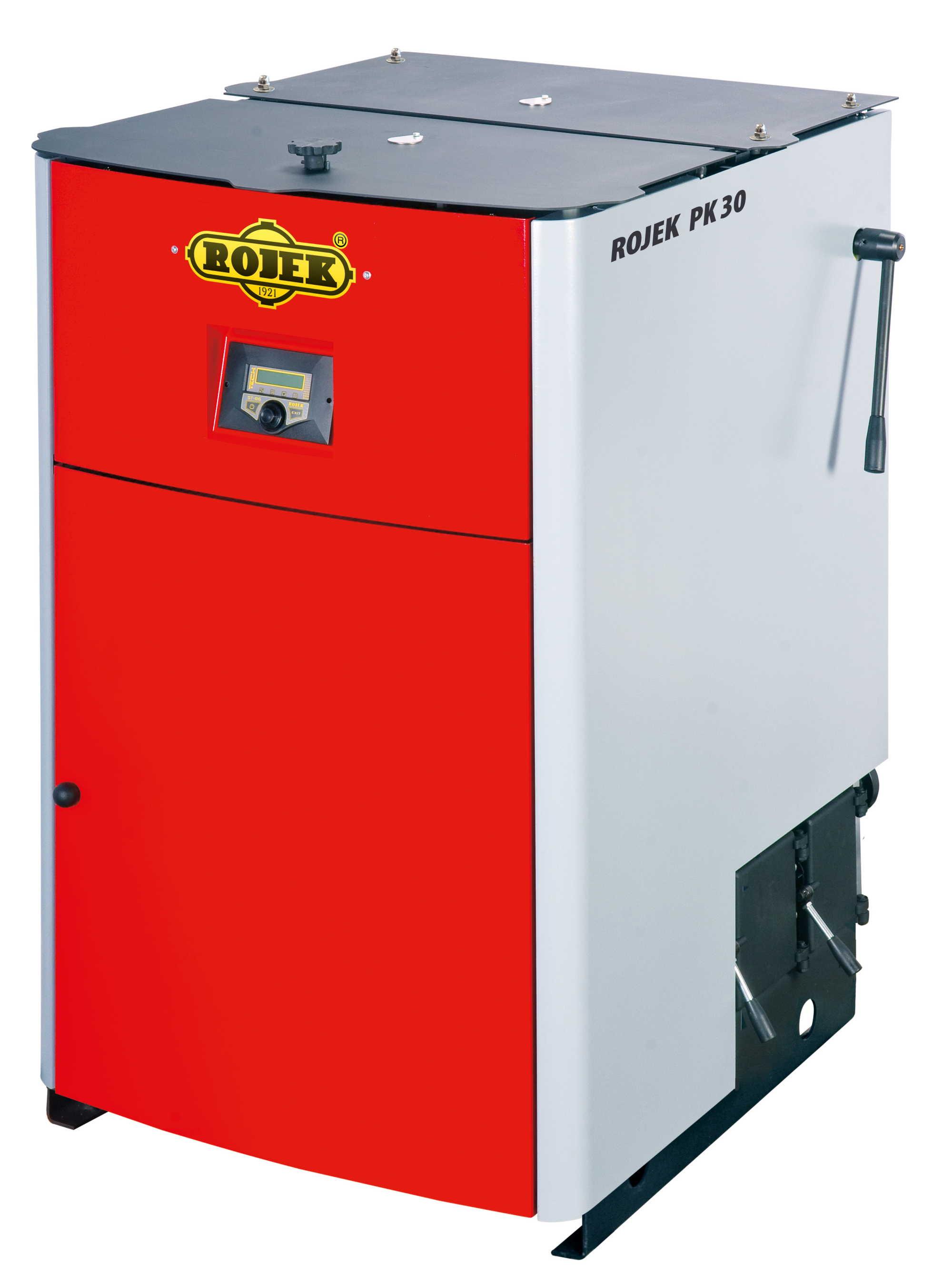 PK 30 - pyrolytický teplovodní kotel