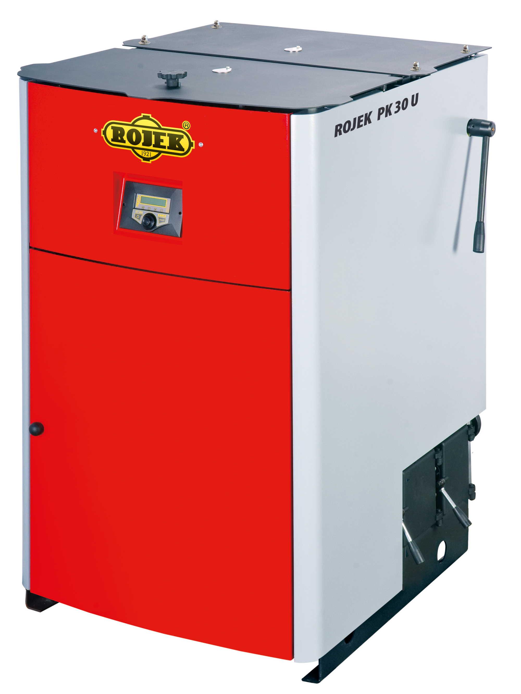 PK 30 U - pyrolytický teplovodní kotel