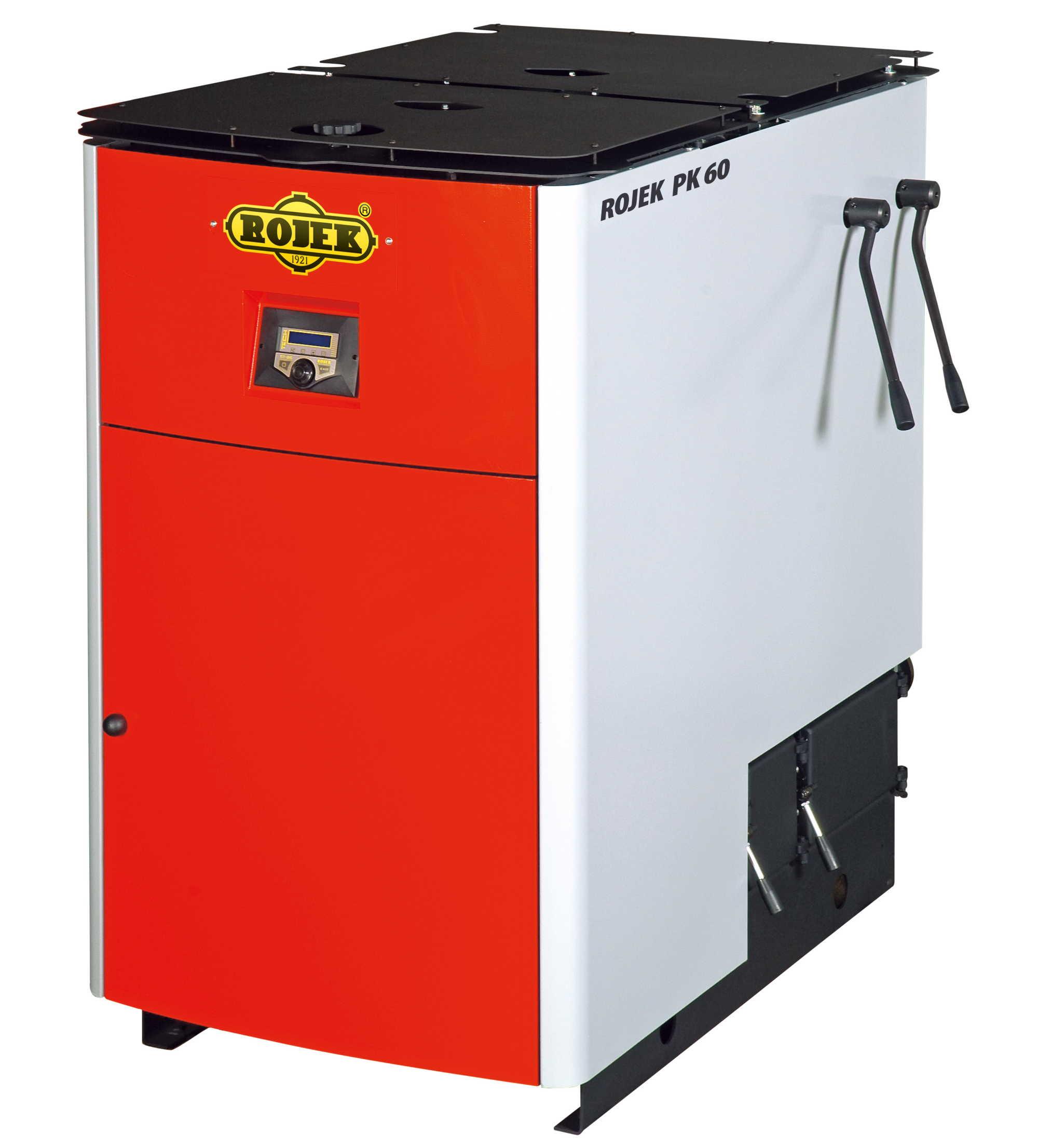 PK 60 - pyrolytický teplovodní kotel