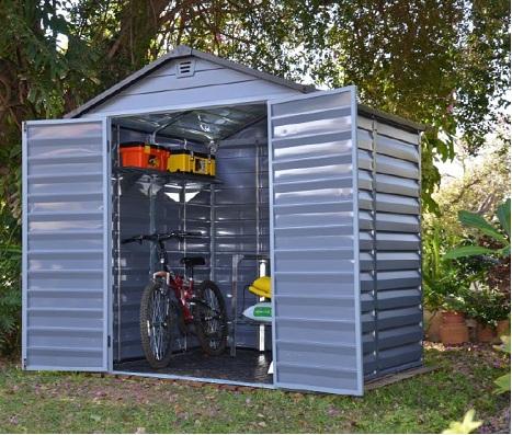 Plastový zahradní domek KOMFORT HOME PLAST 6x8