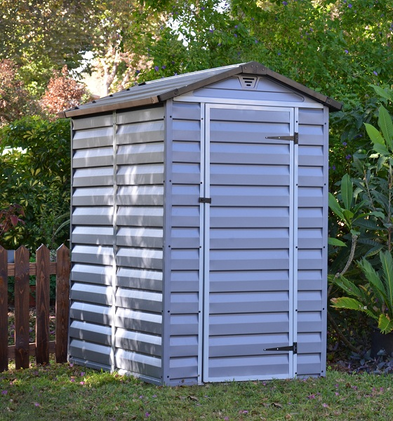 Plastový zahradní domek KOMFORT HOME PLAST 4x6