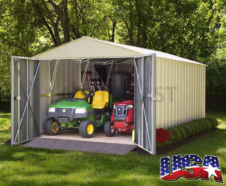 plechová garáž ARROW COMMANDER 1010