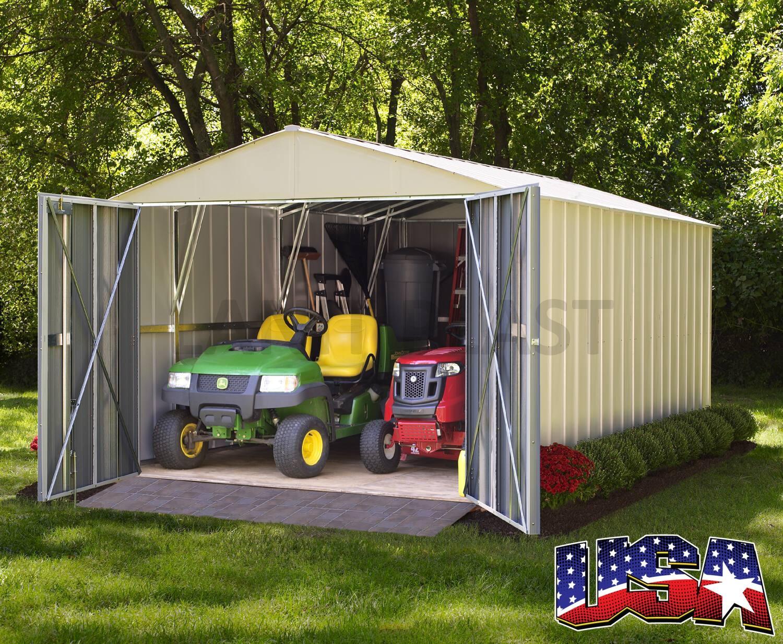 plechová garáž ARROW COMMANDER 1015