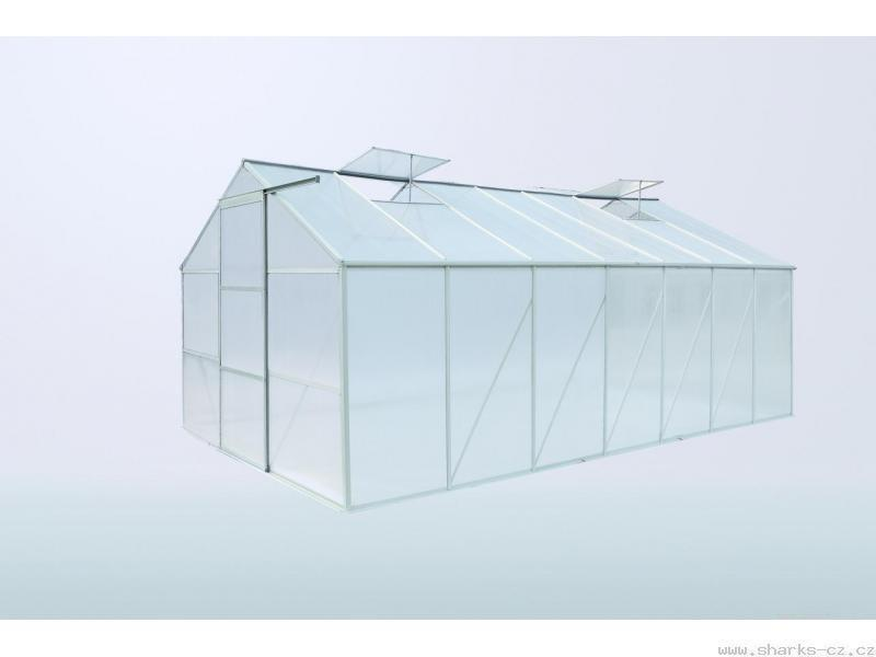 Polykarbonátový skleník SH 4300