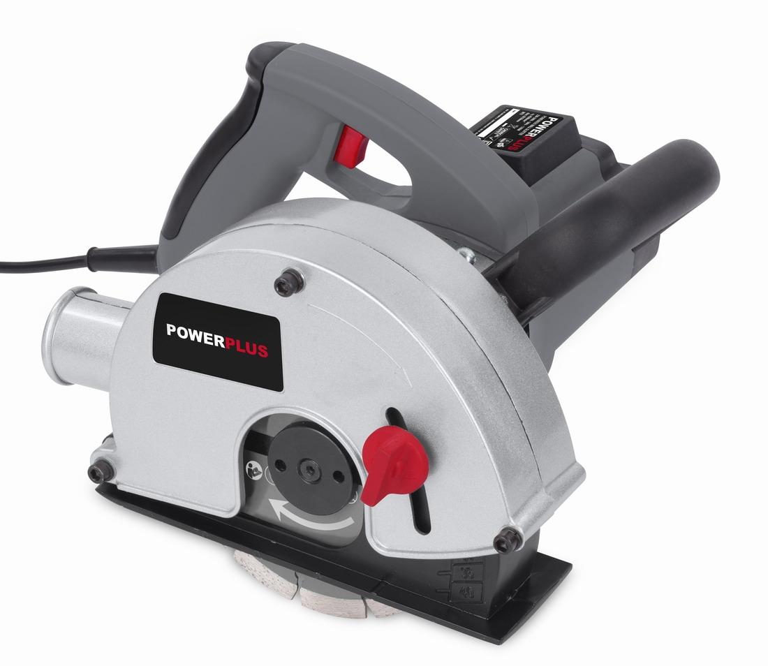 PowerPlus POWE80050 - Drážkovací fréza 1 700 W