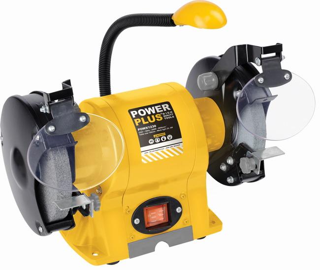 POWX1230 - Dvoukotoučová bruska 350 W
