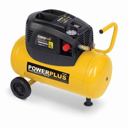 POWX1730 - Kompresor 1 100 W / 24 L + 6 ks příslušenství