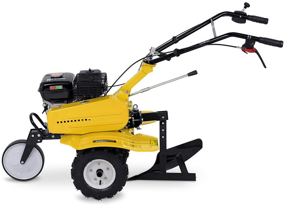 POWXG7217 - Benzinový kultivátor 208 cc + pluh ZDARMA