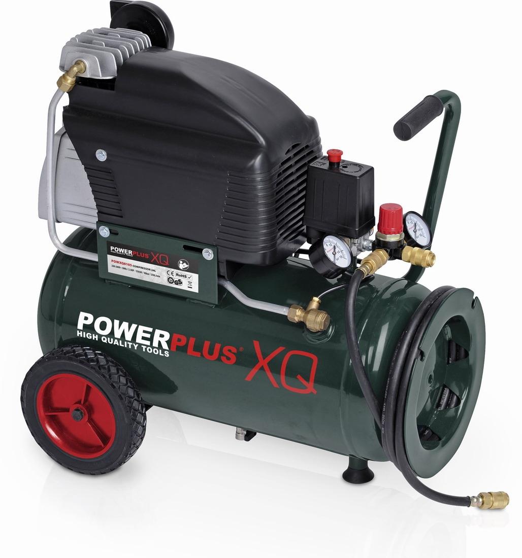POWXQ8105 - Kompresor 2HP 24 litrů