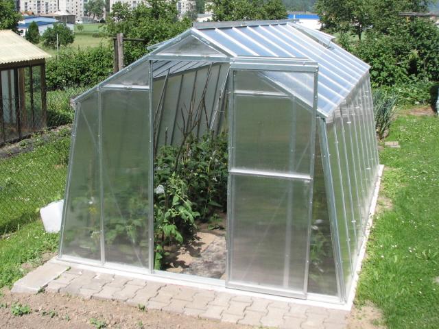 Prodlužovací modul pro skleník Hobby H 7-W s polykarbonátem