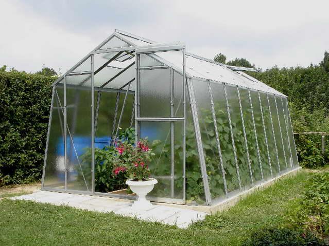 Prodlužovací modul pro skleník Hobby H 7-W