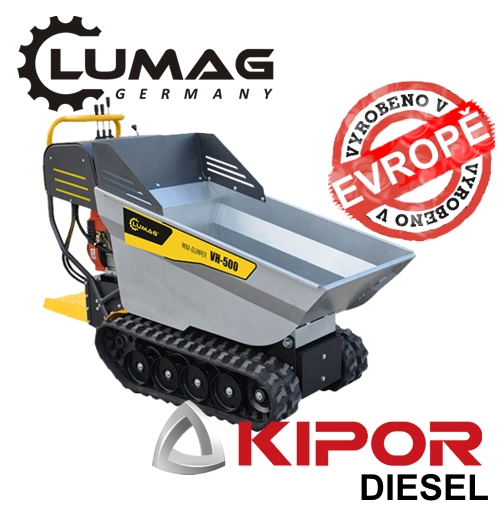 Profi minidumper Lumag VH500 D KIPOR diesel motor