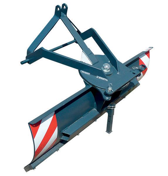 Radlice shrnovací zadní š.120 cm, typ TX 150