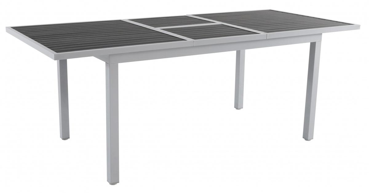 Raphael - hliníkový rozkládací stůl 204 x 90 x 75 cm