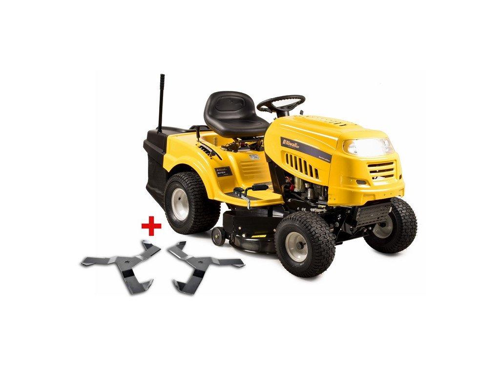 Riwall PRO RLT 92 H Power Kit - zahradní traktor s zadním výhozem