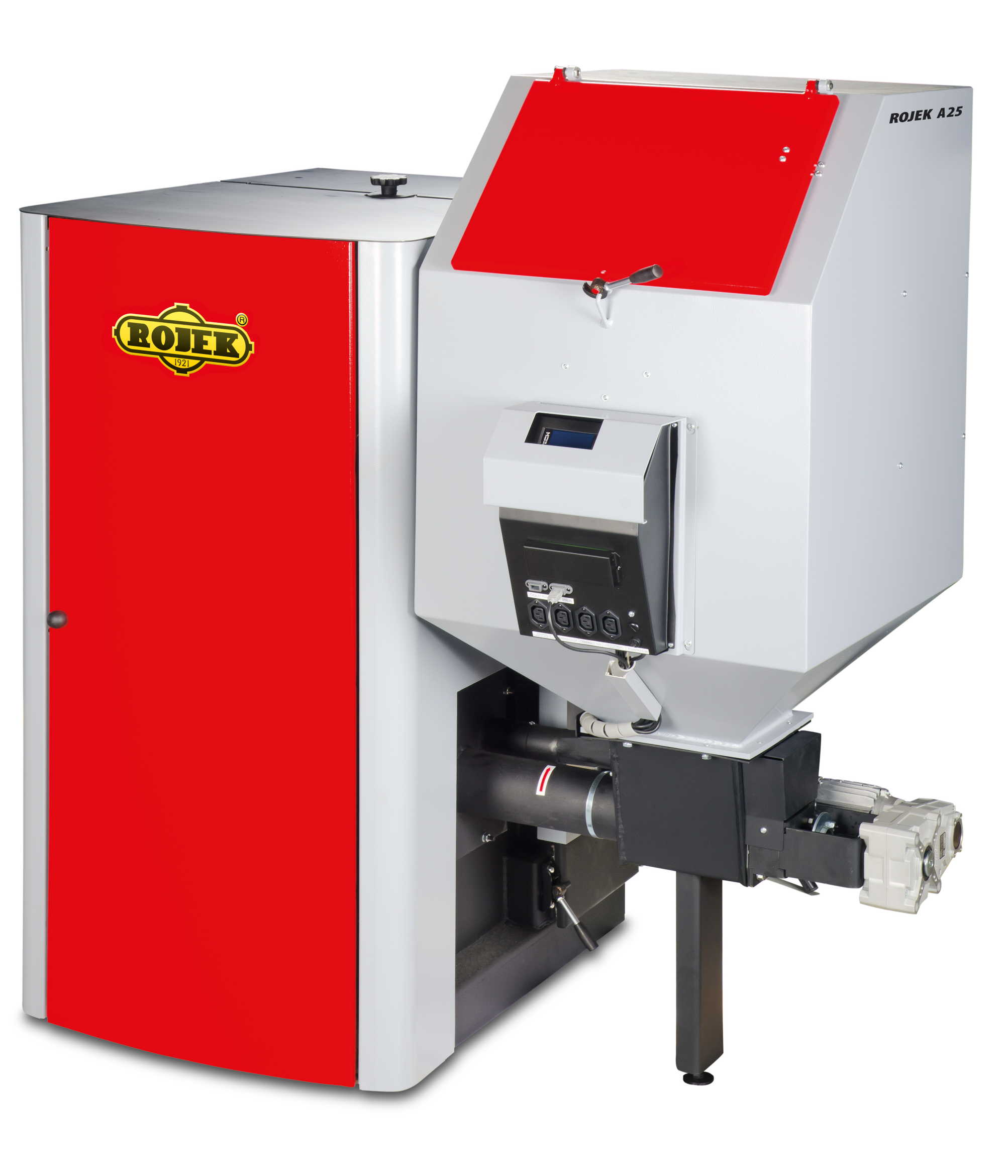 ROJEK A 25 - Automatický teplovodní kotel na tuhá paliva