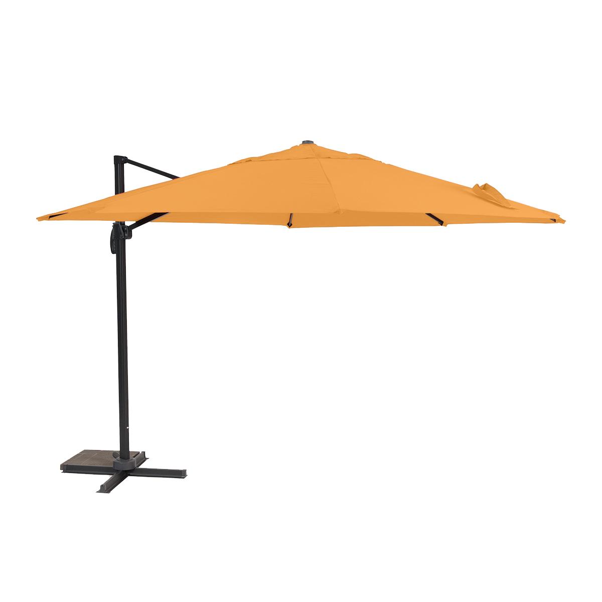 Roma - boční slunečník 3,5 m (oranžový)