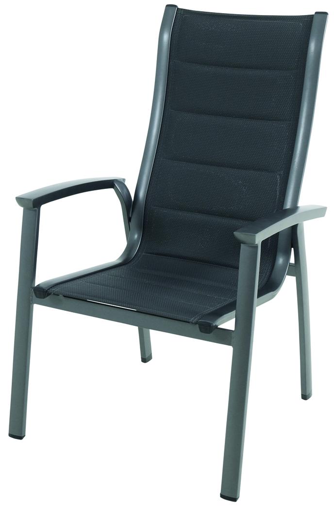 Royal Richmond - hliníková stohovatelná židle 65 x 67 x 108,5 cm