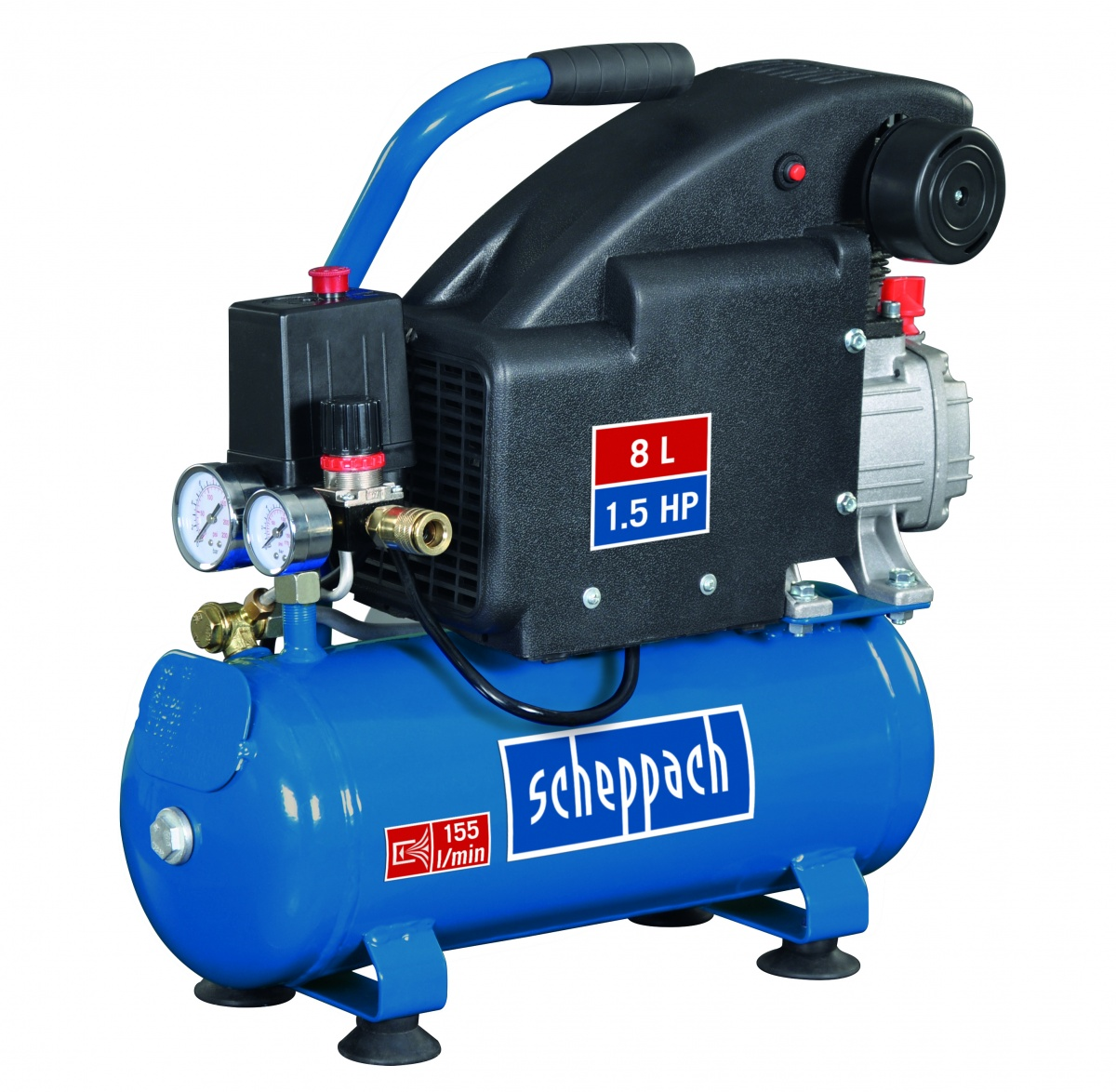 Scheppach HC 08 - olejový kompresor
