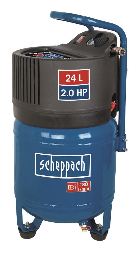 Scheppach HC 24 V - bezolejový vertikální kompresor