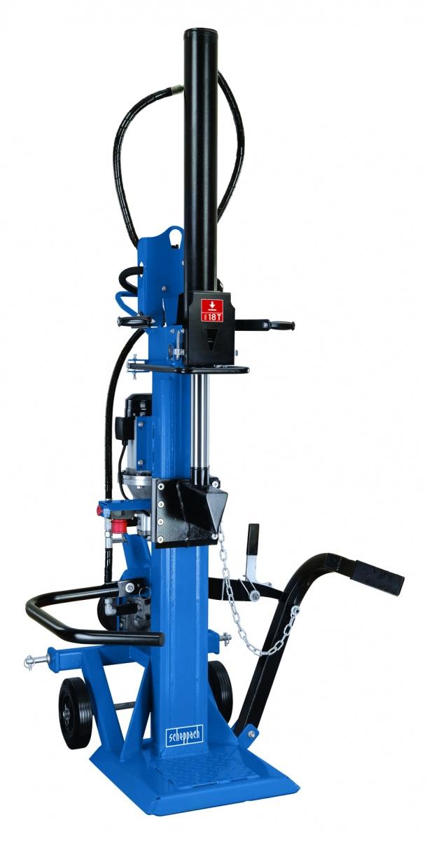 Scheppach HL 1800 GM - profesionální hybridní štípač na dřevo 18 t