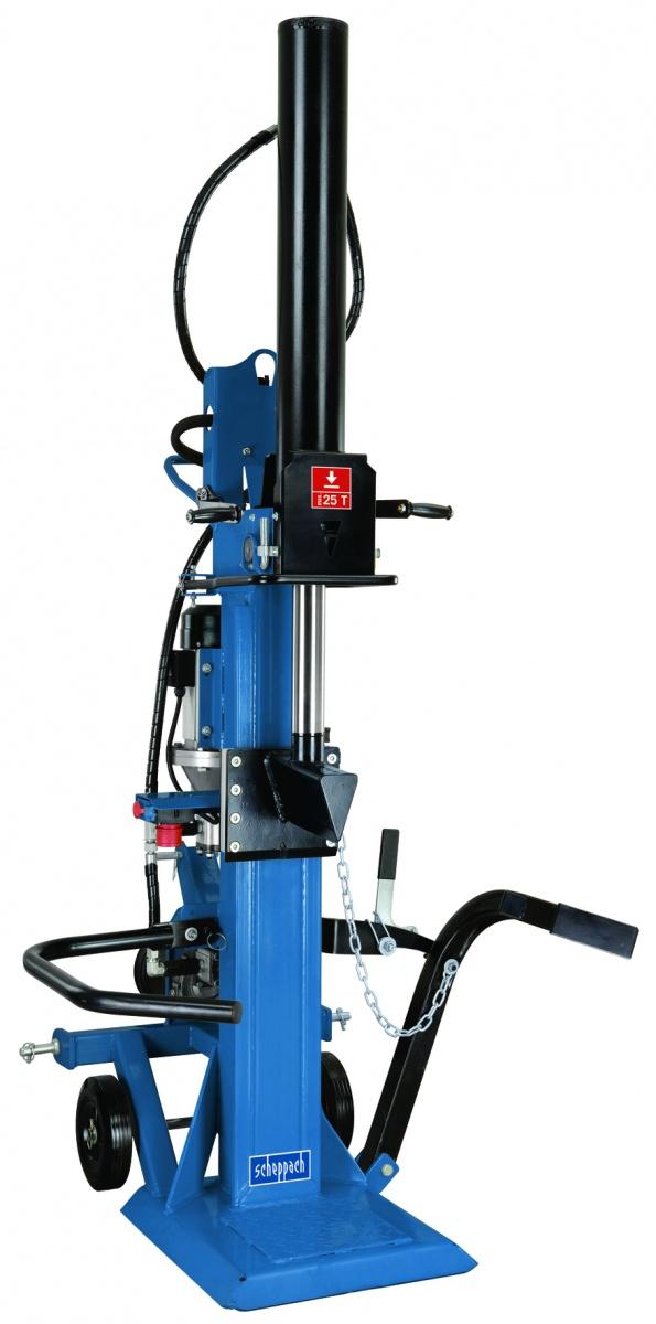 Scheppach HL 2500 GM - profesionální hybridní štípač na dřevo 25 t