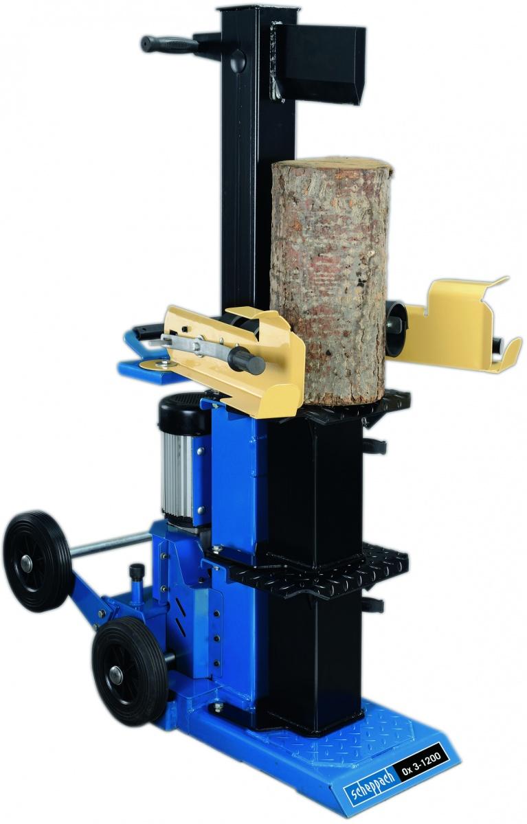 Scheppach Ox 3-1200 - vertikální štípač dřeva 12t