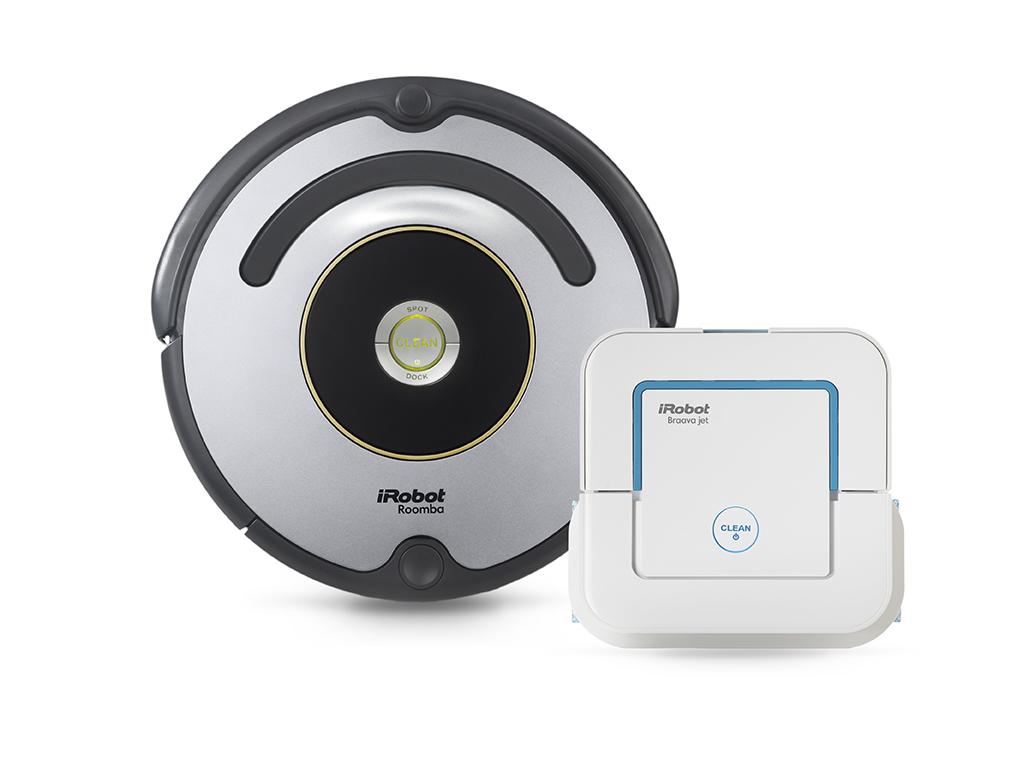 Set iRobot Roomba 616 + Braava jet 240