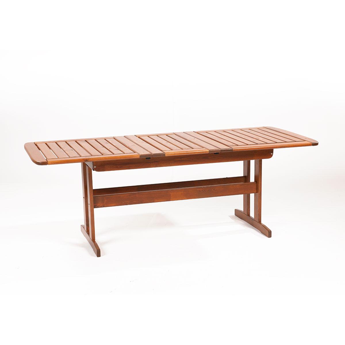 Skeppsvik - rozkladatelný zahradní stůl