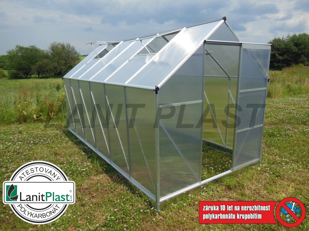 skleník LANITPLAST PLUGIN NEW 6x10 STANDARD