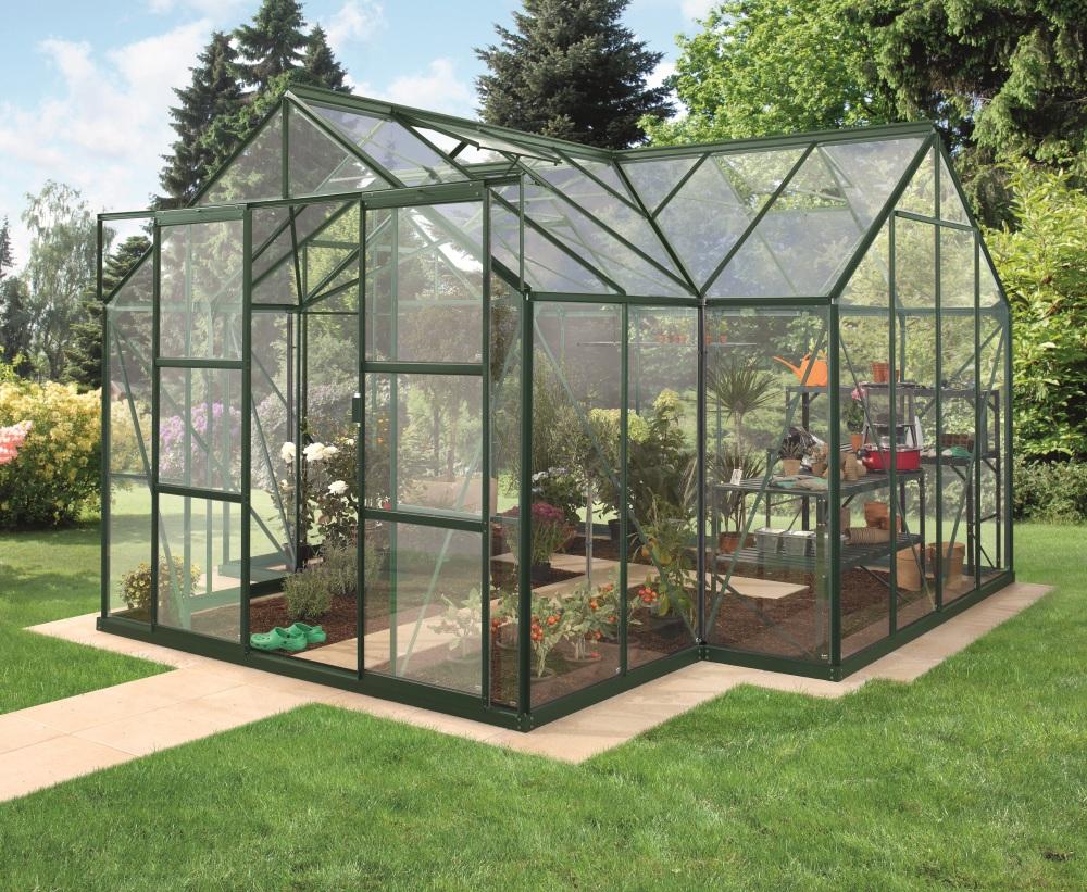 skleník VITAVIA SIRIUS sklo 3 mm zelený