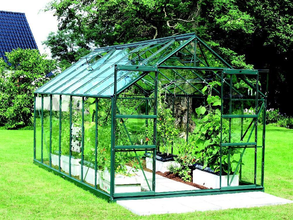 skleník VITAVIA URANUS 11500 sklo 3 mm zelený