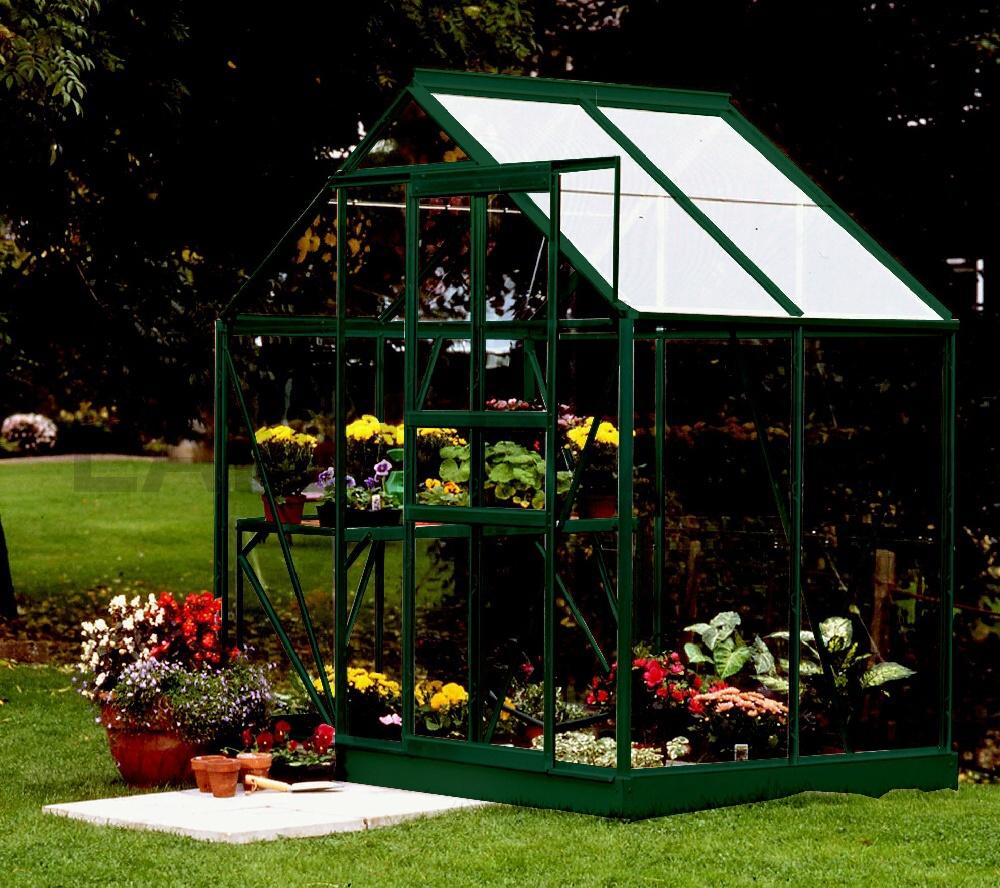 skleník VITAVIA VENUS 2500 sklo 3 mm zelený