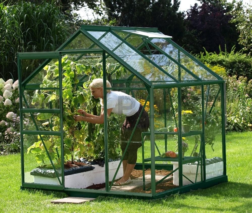 skleník VITAVIA VENUS 3800 sklo 3 mm zelený