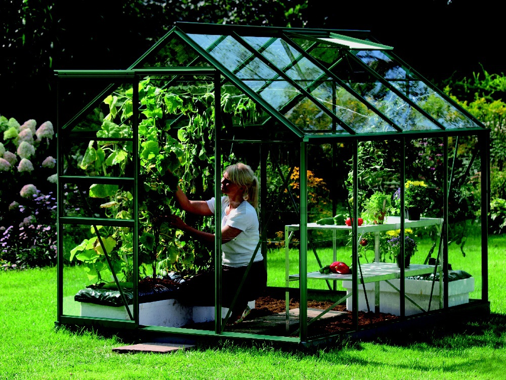 skleník VITAVIA VENUS 5000 sklo 3 mm zelený
