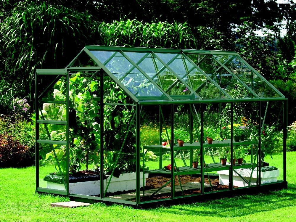 skleník VITAVIA VENUS 6200 sklo 3 mm zelený