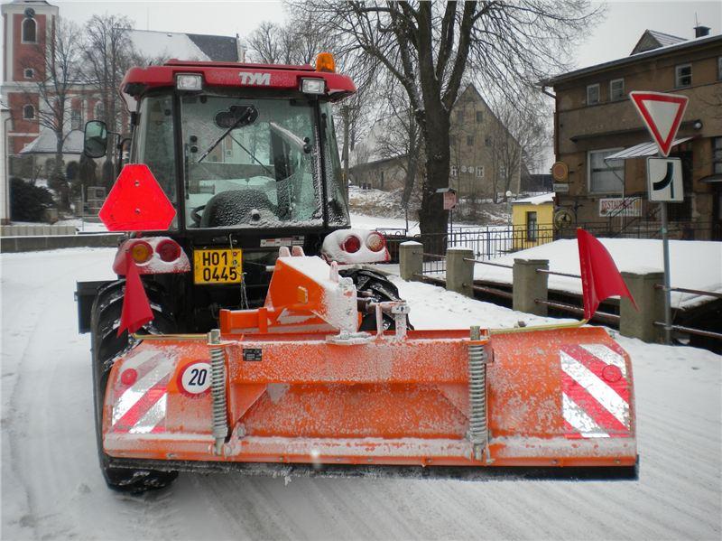 Sněhový pluh zadní SB-Z 14