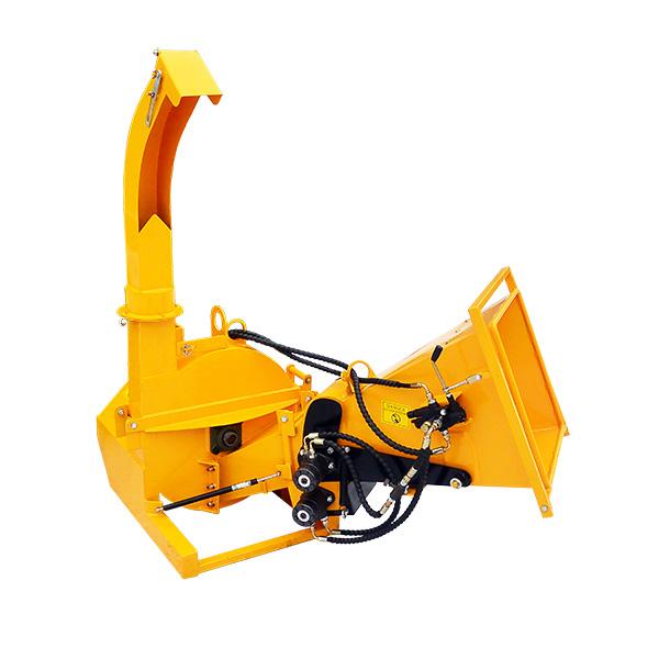 Štěpkovač nesený s hydraulickým podavačem MSO
