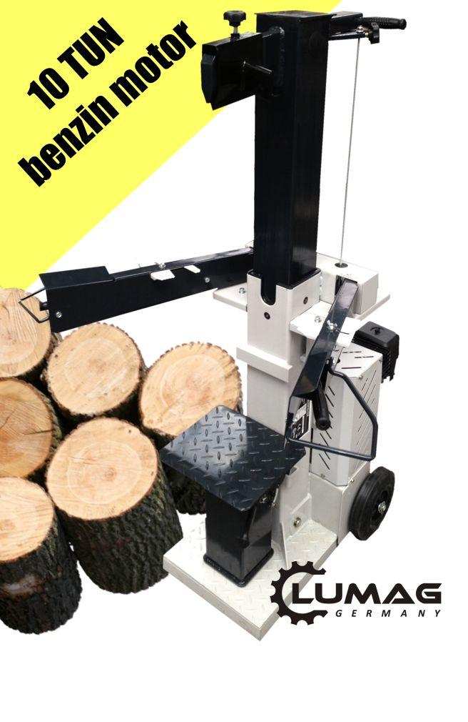 Štípačka na dřevo s benzínovým motorem Lumag HB10-S