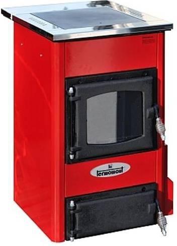 Termomont Temy S 10 interiérový kotel - červený