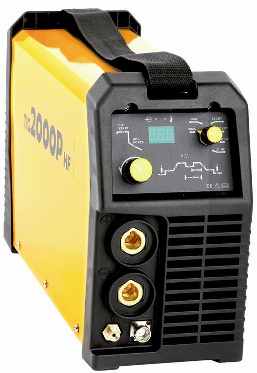 TIG 2000P HF - invertorový svářecí zdroj
