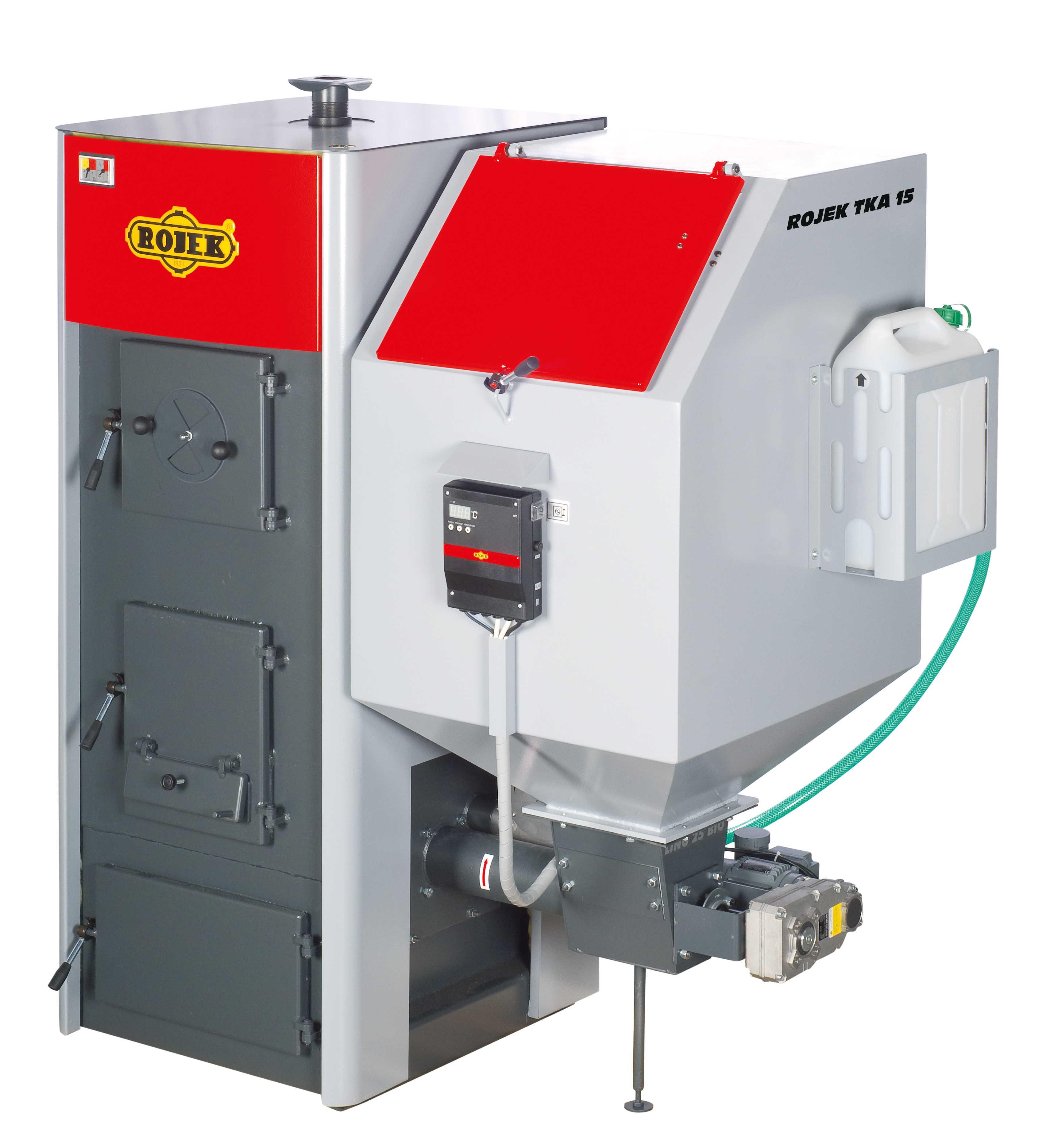 TKA 15 - automatický teplovodní kotel na tuhá paliva